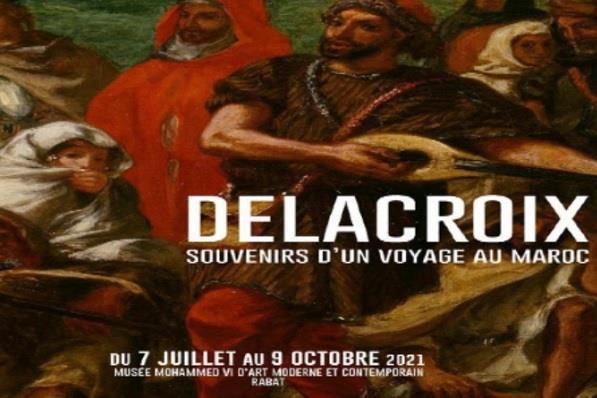 Ouverture à Rabat de l'exposition « Delacroix :souvenirs d'un voyage au Maroc »