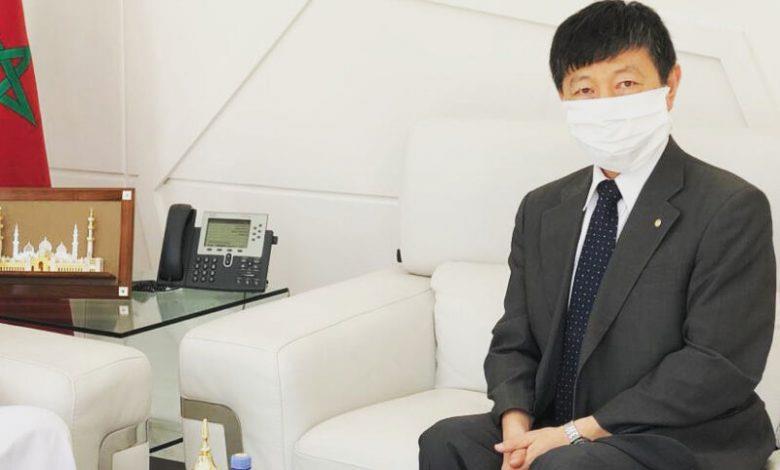 """سفير اليابان بالرباط: """"تصنيع لقاح  كوفيد- 19 بالمغرب خطوة كبيرة ترقى بالمملكة إلى مصاف البلدان الصاعدة"""""""