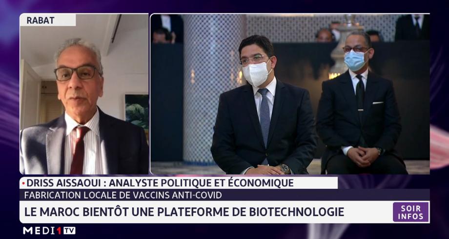 Fabrication de vaccins anti-Covid:le Maroc bientôt une plateforme de biothechnologie. Analyse de Driss Aissaoui