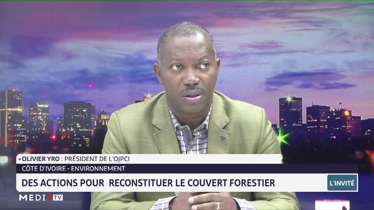 Côte d'Ivoire: quelles actions pour reconstituer le couvert forestier? Analyse d'Olivier Yro
