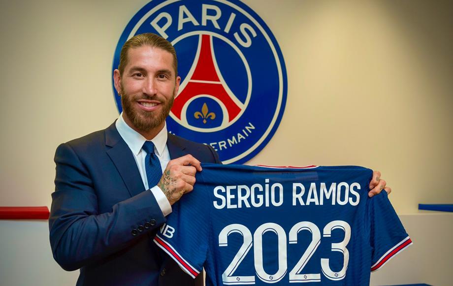France: pas de date de retour connue pour Sergio Ramos, selon l'entraîneur du PSG