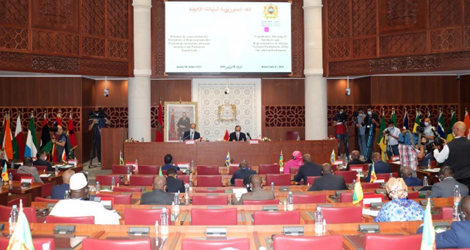 برلمانيون أفارقة يشيدون بجهود المغرب لضمان مستقبل أفضل للبرلمان الإفريقي