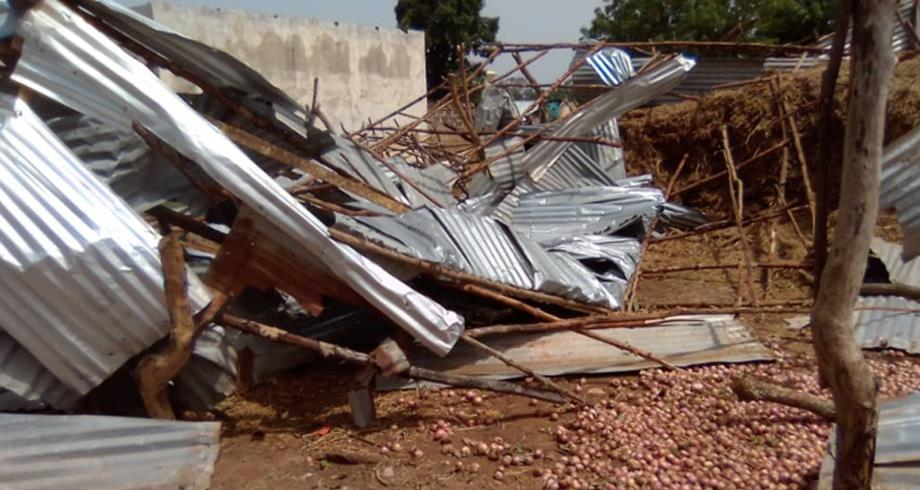 غامبيا.. عشرة قتلى وأكثر من 1500 نازح جراء عاصفة ضربت البلاد