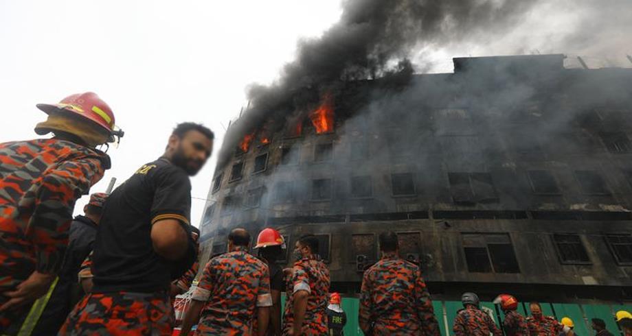 بنغلاديش .. 52 قتيلا على الأقل في حريق مصنع قرب العاصمة