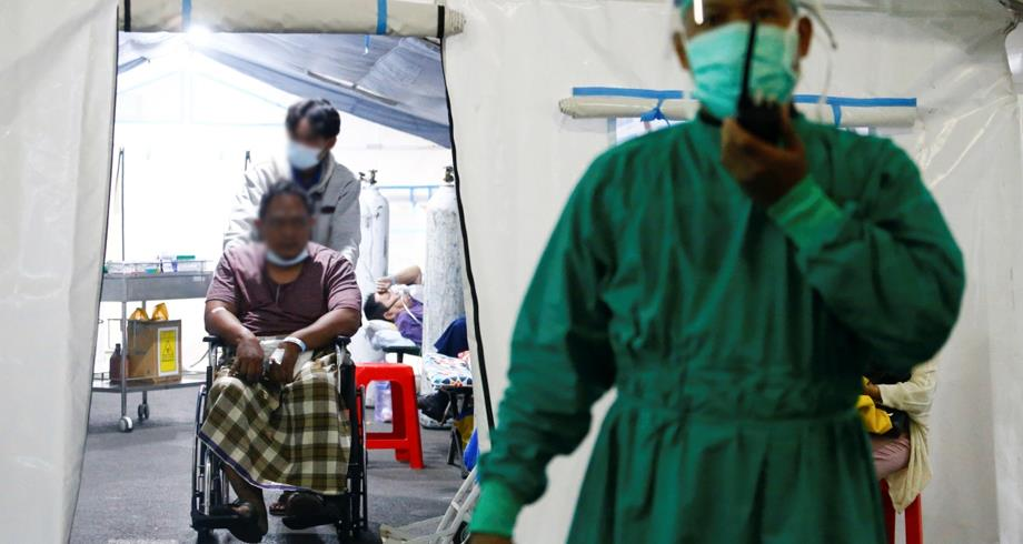 """المتغير """"دلتا"""" يشكل أصل 78,8 بالمئة من حالات الإصابة في إندونيسيا"""