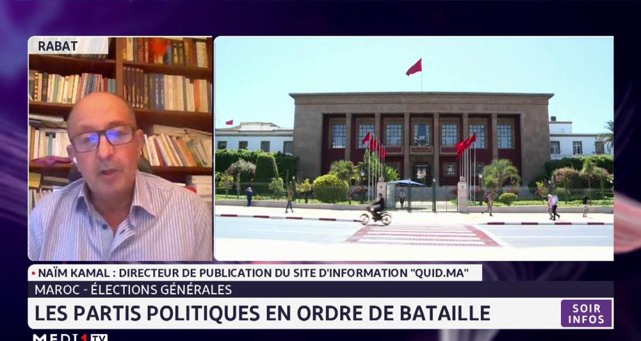 Élections générales au Maroc: les partis politiques en ordre de bataille
