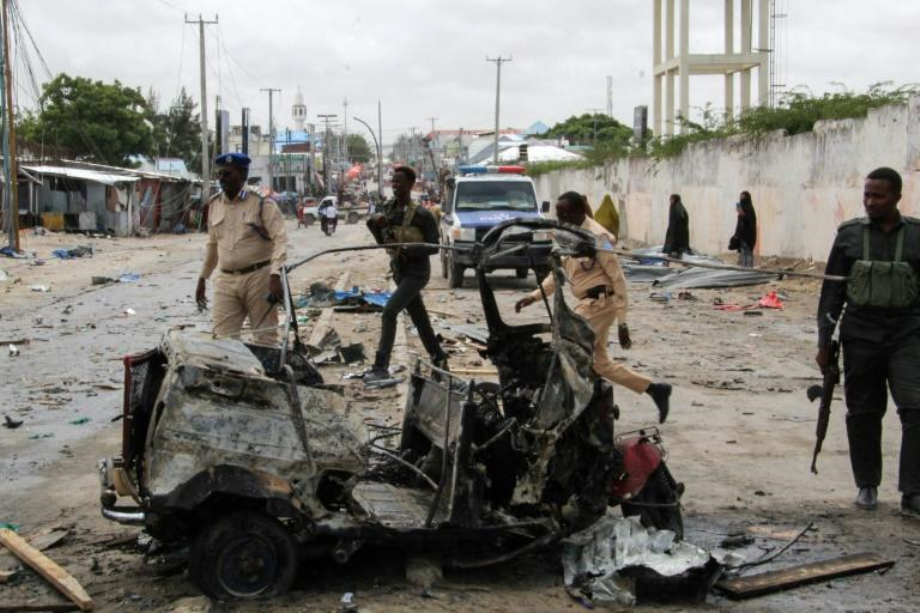 Somalie: au moins 9 morts dans un attentat-suicide à Mogadiscio
