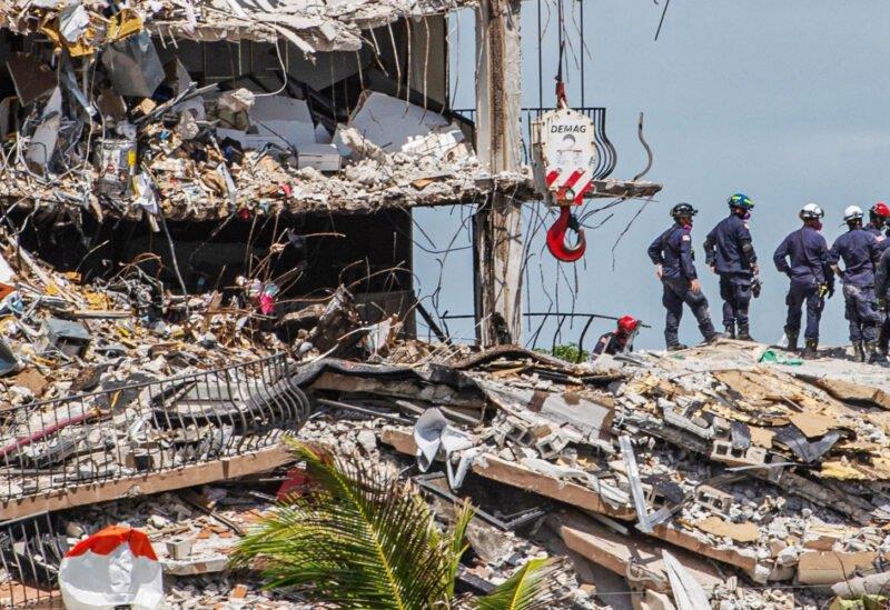حصيلة انهيار المبنى في فلوريدا ترتفع إلى 86 قتيلا على الأقل