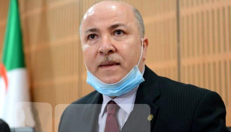Algérie/Covid-19: le nouveau Premier ministre testé positif