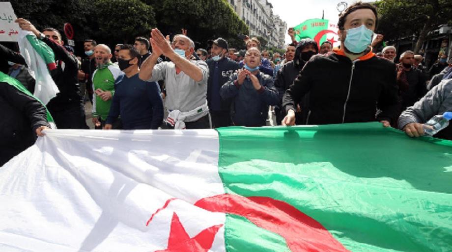 Genève: plusieurs dizaines d'Algériens marchent contre l'intensification de la répression dans leur pays