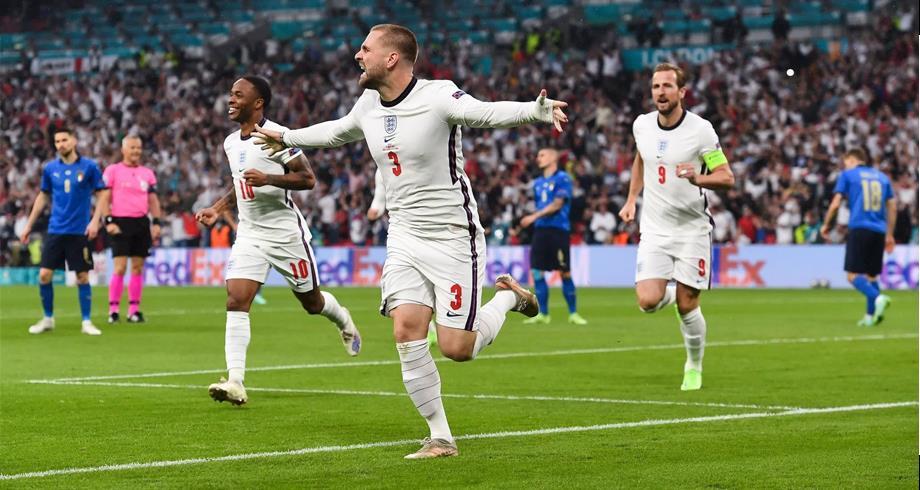 كأس أوروبا ..الإنجليزي شو يسجل أسرع هدف في تاريخ المباريات النهائية