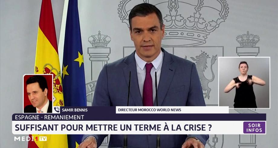 Espagne-Gouvernement: large remaniement ministériel annoncé par Pedro Sanchez