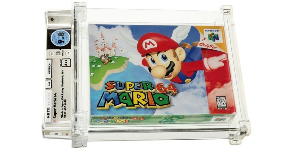 بيع نسخة نادرة من لعبة (سوبر ماريو) بأكثر من 1.5 مليون دولار