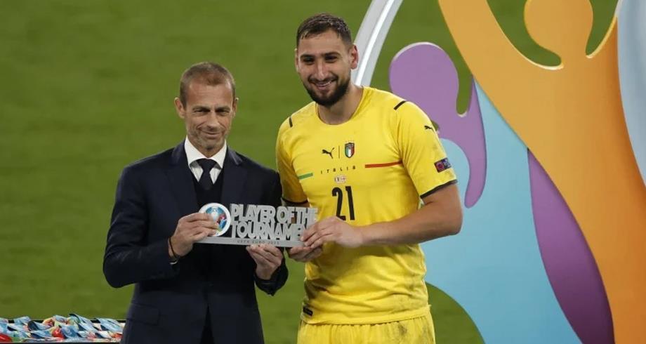 Euro-2020: Donnarumma désigné meilleur joueur