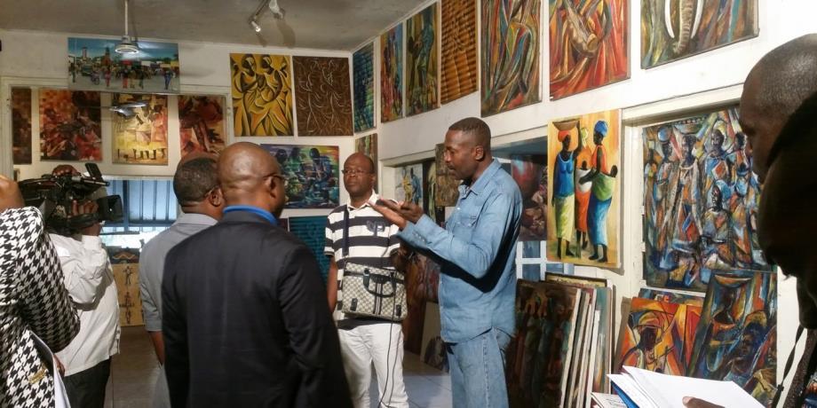 Congo : L'école de Poto-Poto passe va vendre ses tableaux en ligne