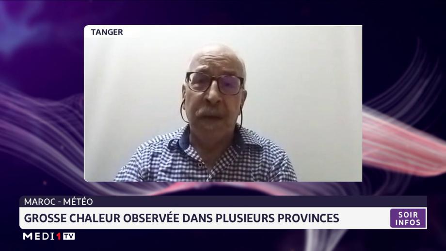 Chaleur observée au Maroc: les explications du climatologue Karrouk