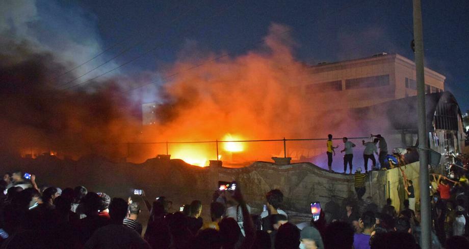 64 قتيلا ضحايا حريق مستشفى الناصرية في جنوب العراق