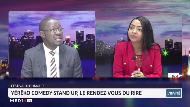 Yêrêko Comedy Stand Up, le RDV du rire, avec Fatima Fakhry