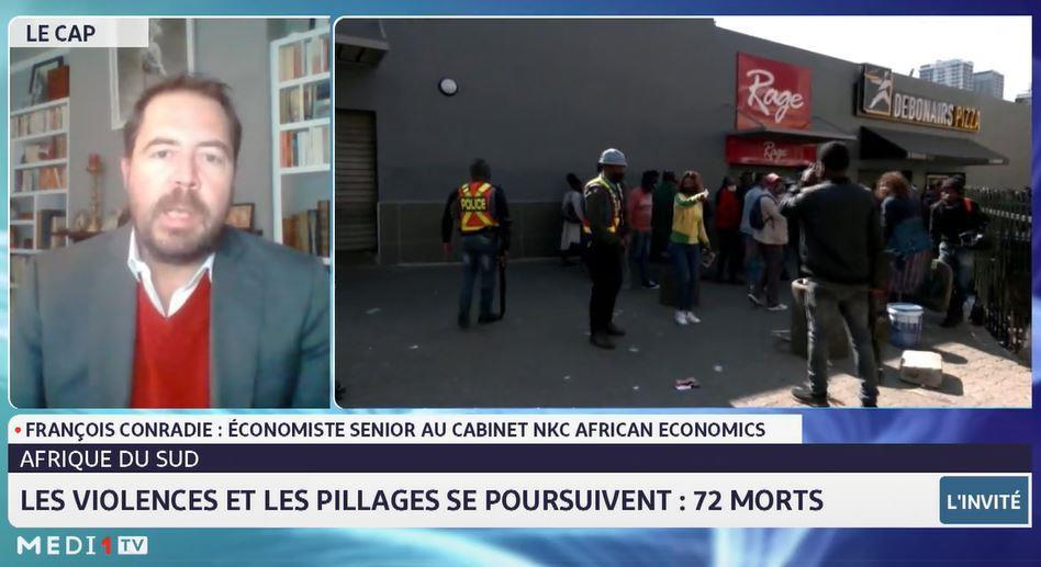 Le point sur la situation en Afrique du Sud avec François Conradie