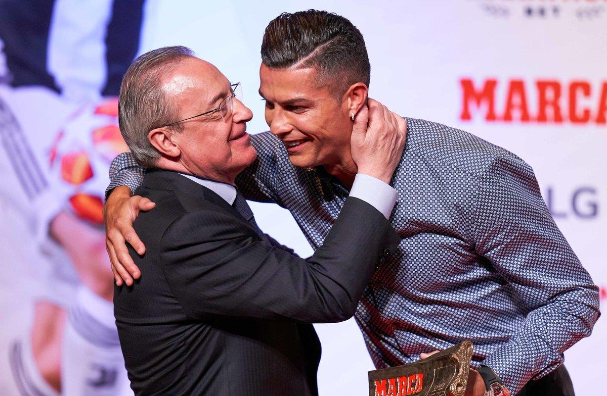 """في تسريبات جديدة...رئيس ريال مدريد يصف رونالدو ب""""الأحمق"""""""
