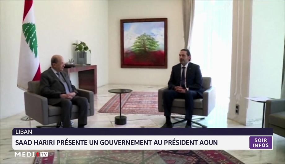 Liban: Hariri présente au Président sa nouvelle équipe gouvernementale