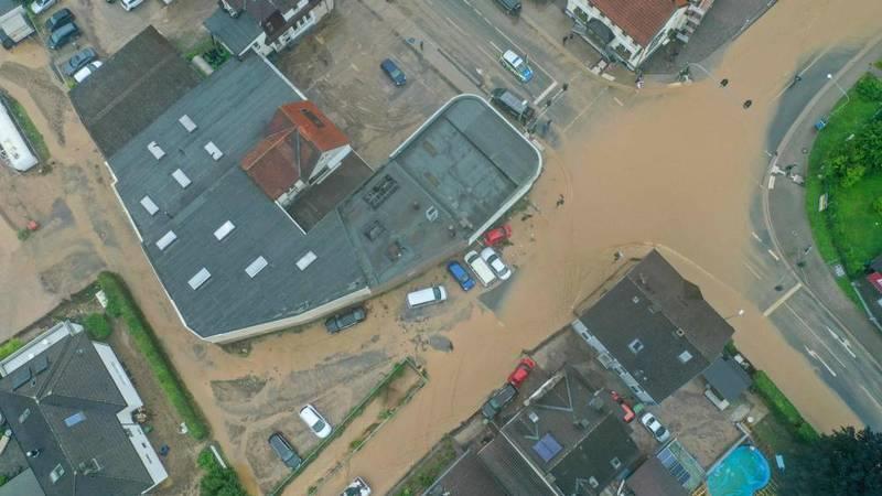 عواصف رعدية عنيفة تضرب مناطق عدة في ألمانيا