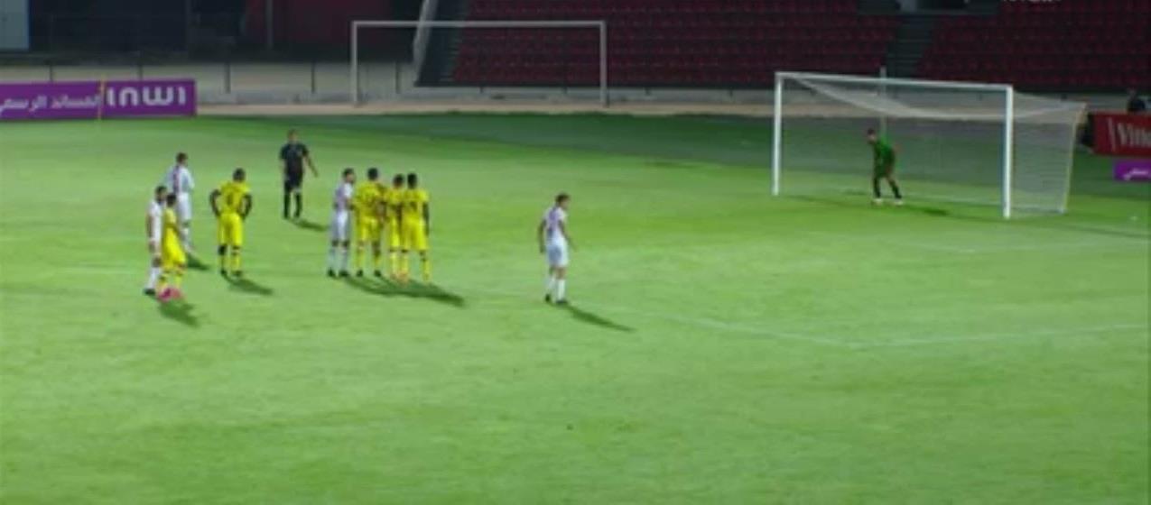 فريق شباب المحمدية يتعادل مع ضيفه فريق المغرب الفاسي