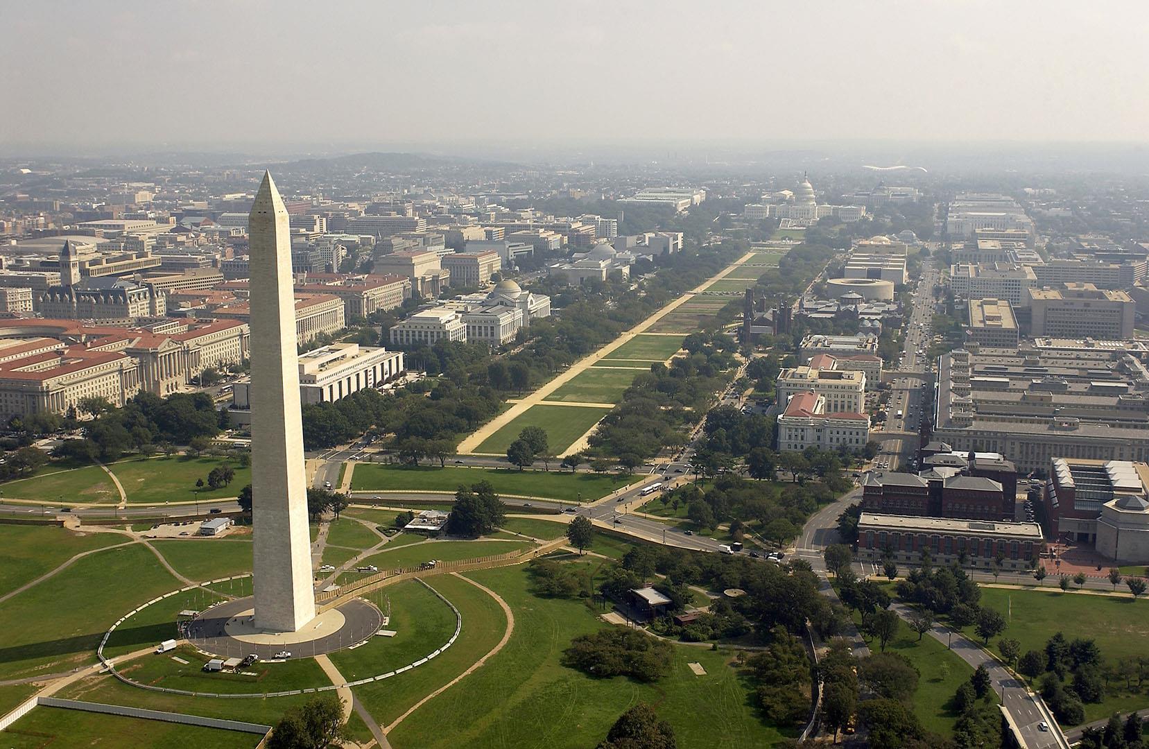 L'obélisque de Washington rouvre au public