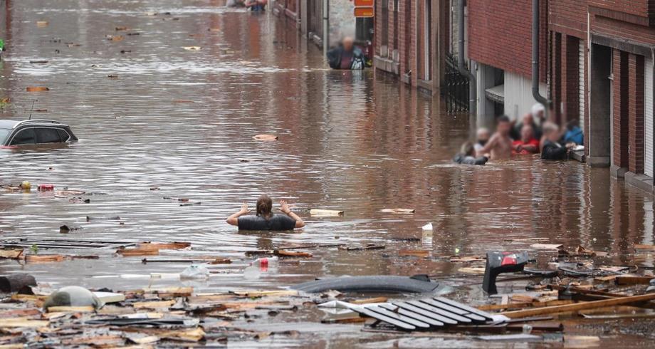فيضانات .. بلجيكا تفعل مرحلة الطوارئ الفيدرالية