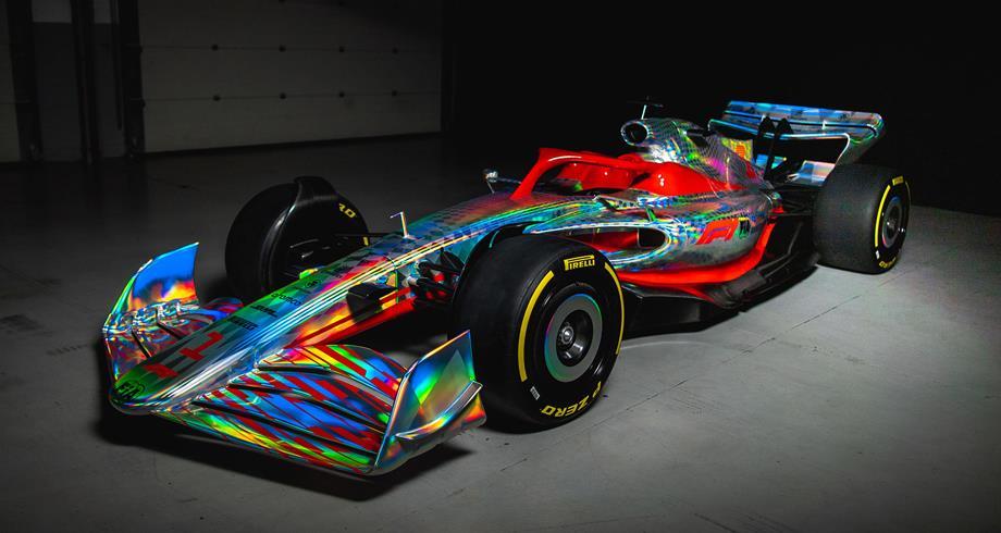 فورمولا واحد: الكشف عن نموذج سيارة 2022