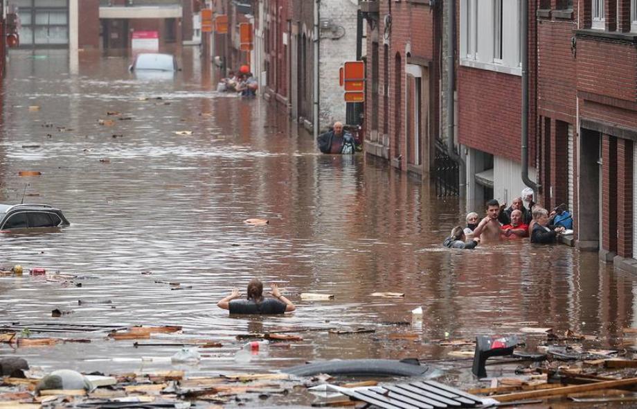 Inondations en Belgique: le bilan passe à au moins neuf morts