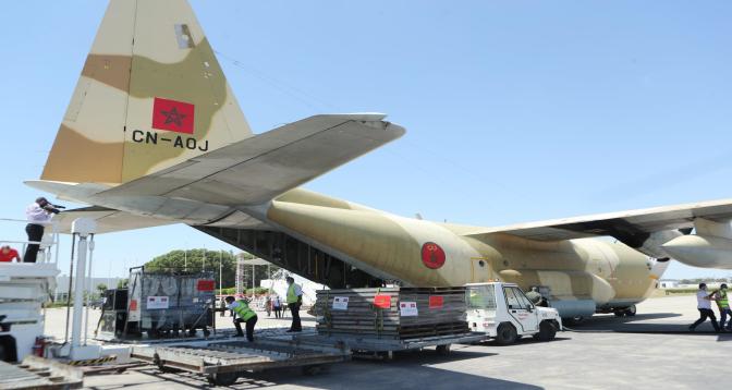 المساعدة الطبية العاجلة .. وصول أربع طائرات جديدة إلى تونس