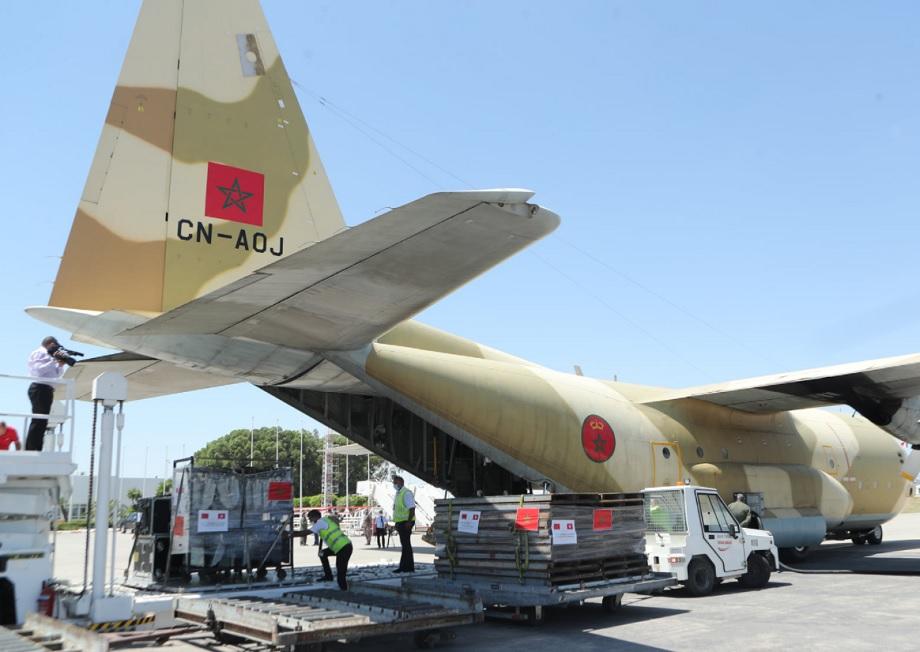 Arrivée d'un nouveau lot d'aide médicale d'urgence en Tunisie