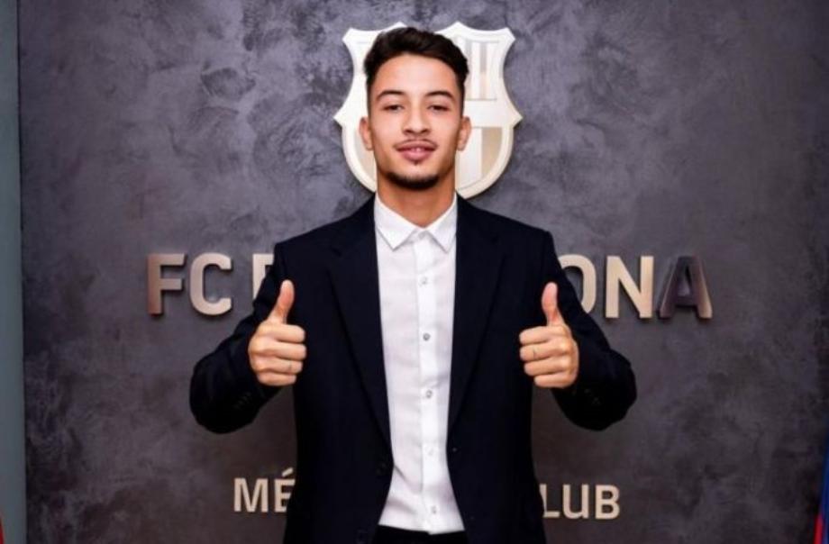 Football: le Marocain Zacarias Ghailan signe au Barça jusqu'en 2024