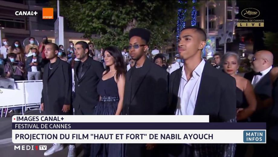 """Festival de Cannes: projection officielle du film """"Haut et Fort"""" de Nabil Ayouch"""