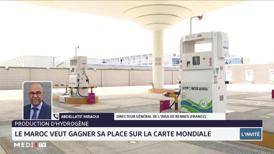 Énergies renouvelables: Abdellatif Miraoui met l'accent sur les principaux enjeux de l'hydrogène au Maroc