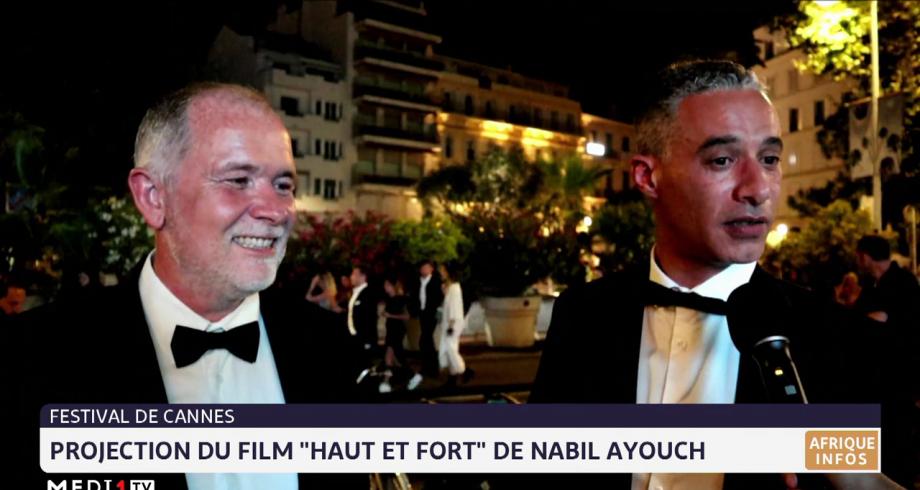 """Projection à Cannes du film """"Haut et fort"""" de Nabil Ayouch: les réactions"""