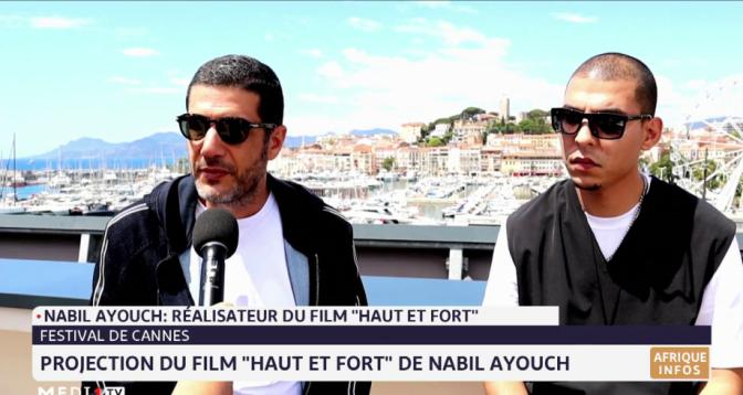 """""""Haut et fort"""" à Cannes: Nabil Ayouch s'exprime au micro de Medi1TV"""
