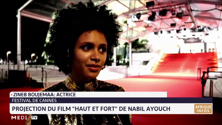 """""""Haut et fort"""" à Cannes: Zineb Boujemaa revient sur son rôle dans le film de Nabil Ayouch"""