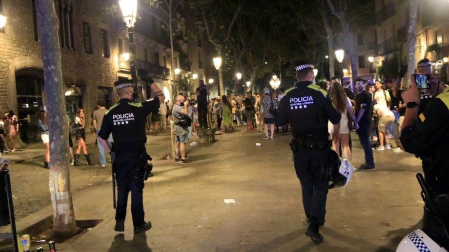 Espagne: retour du couvre-feu à Barcelone