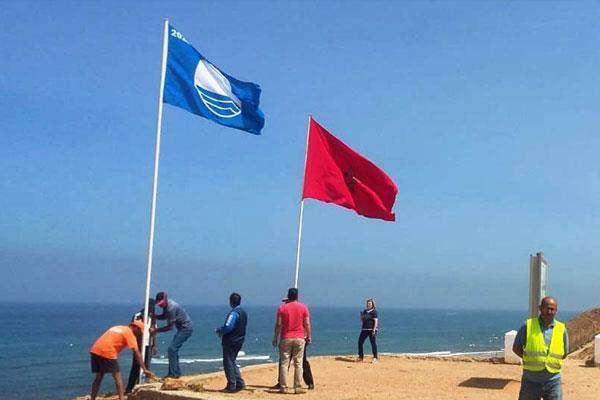 اللواء الأزرق يرفرف من جديد بشاطئ الصويرة للسنة الـ17 على التوالي