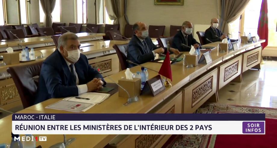 Maroc-Italie: réunion entre les ministères de l'Intérieur des deux pays