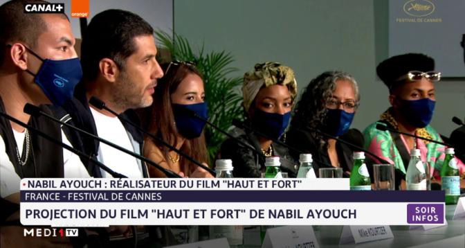 """Cannes 2021: Nabil Ayouch réalisateur du film """"Haut et fort"""" répond aux questions de Bilal Marmid"""