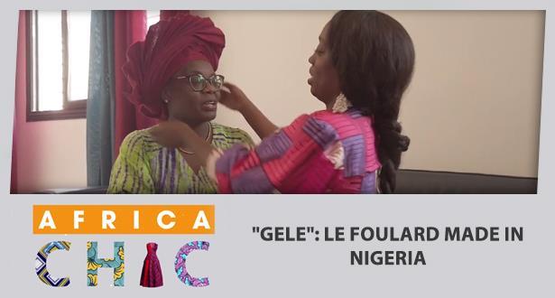 """""""Gele"""": le foulard made in Nigeria"""