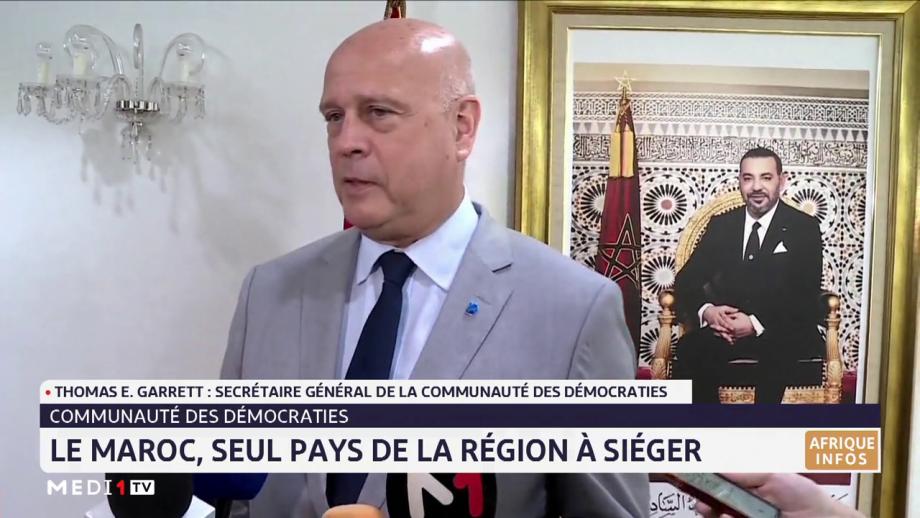 Le SG de la Communauté des Démocraties en visite au Maroc