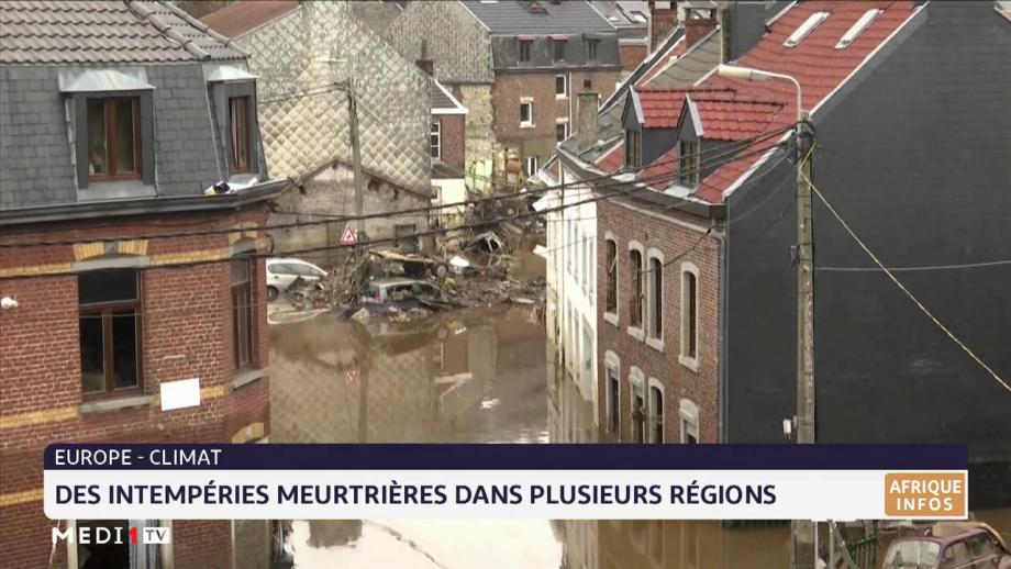 Intempéries dévastatrices en Europe: plusieurs morts et disparus