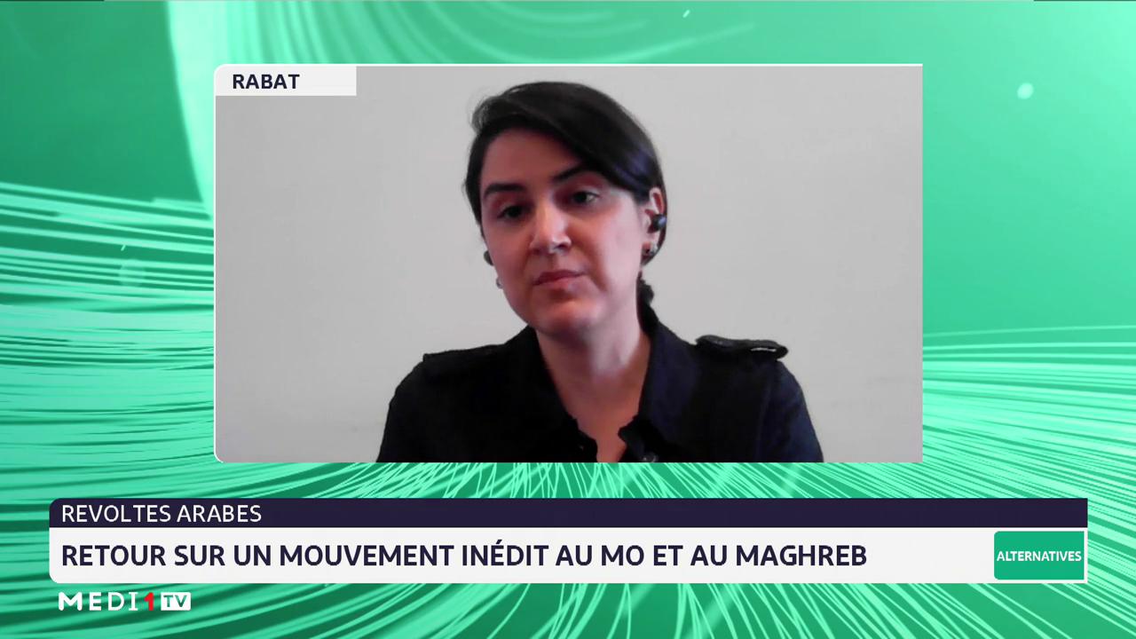 Révoltes arabes: retour sur un mouvement inédit au Moyen-Orient et au Maghreb, avec Zaynab El Bernoussi