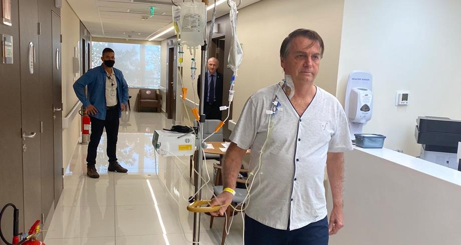 بولسونارو يغادر المستشفى بعد علاج لأربعة أيام