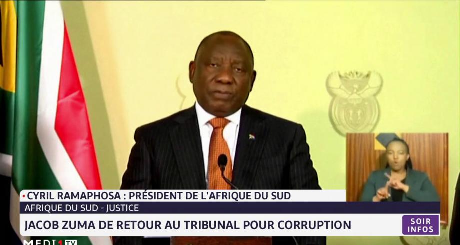 Afrique du Sud: Jacob Zuma de retour au tribunal pour corruption