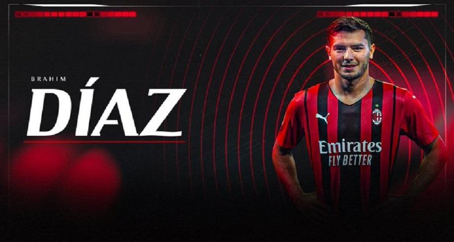 Liga: Brahim Diaz prêté deux saisons à l'AC Milan